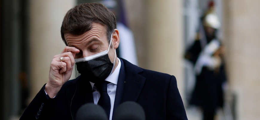 Fransa Cumhurbaşkanı Macron koronavirüse yakalandı