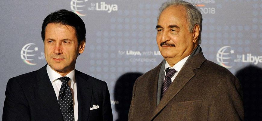 İtalya Başbakanı Conte Hafter ile görüşmek için Libya'da
