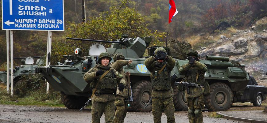 Dağlık Karabağ'da mayın patlaması: Bir Rus subay öldü