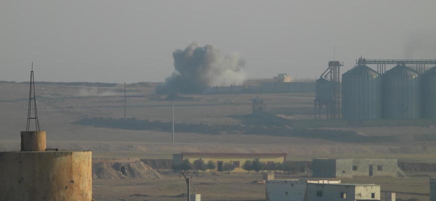 Binlerce sivil YPG kontrolündeki Ayn İsa'yı terk etti