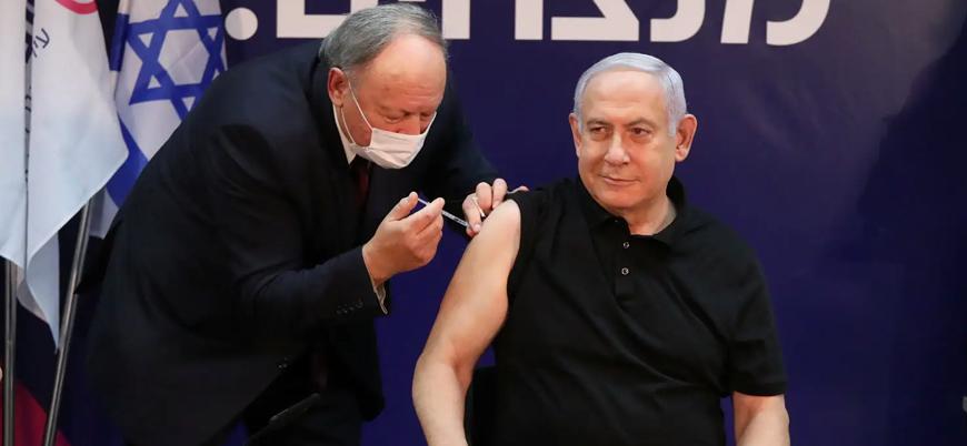 İsrail Başbakanı Netanyahu canlı yayında koronavirüs aşısı oldu
