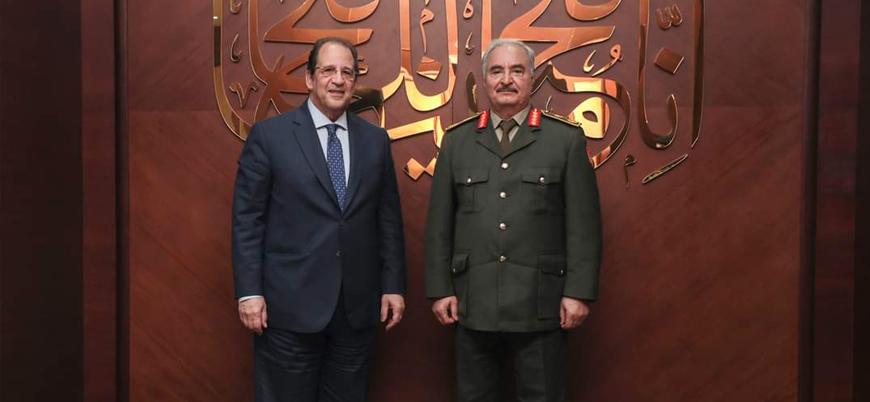 Sisi'nin istihbarat şefi Libya'da Hafter'le görüştü