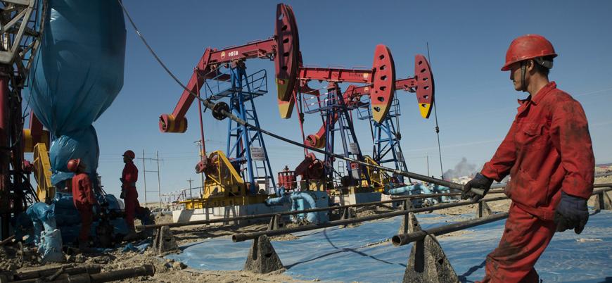 Çin Doğu Türkistan'da doğal gaz rezervi buldu