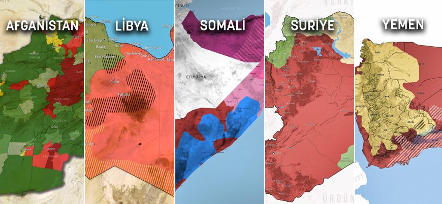 2020 yılı biterken çatışma bölgelerinde son durum