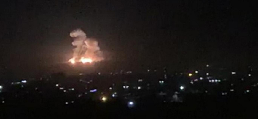 İsrail Şam'da İran destekli Şii milisleri vurdu