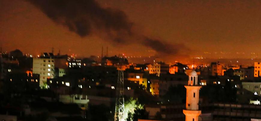 İsrail, roket saldırılarının ardından Gazze'yi vurdu