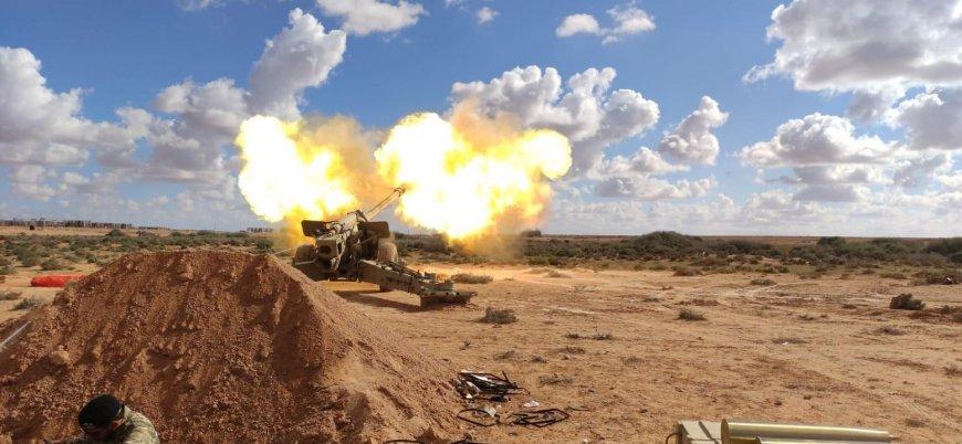 TSK Libya'da ağır silah eğitimlerine devam ediyor