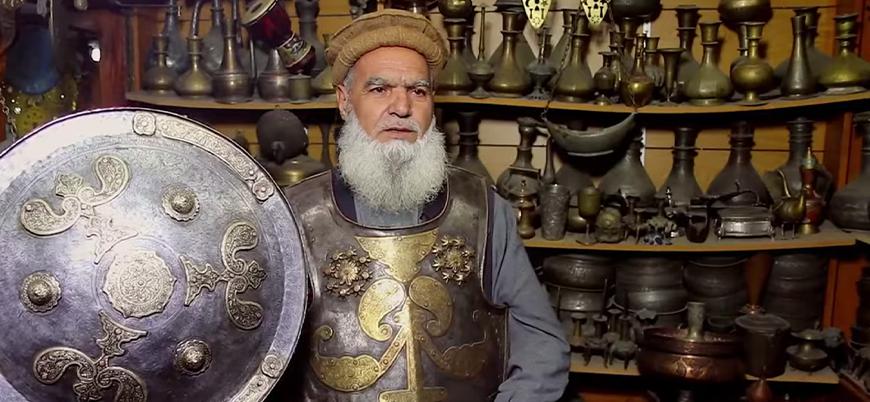Pakistan'da bir Afgan antikacı: Hacı Tanay