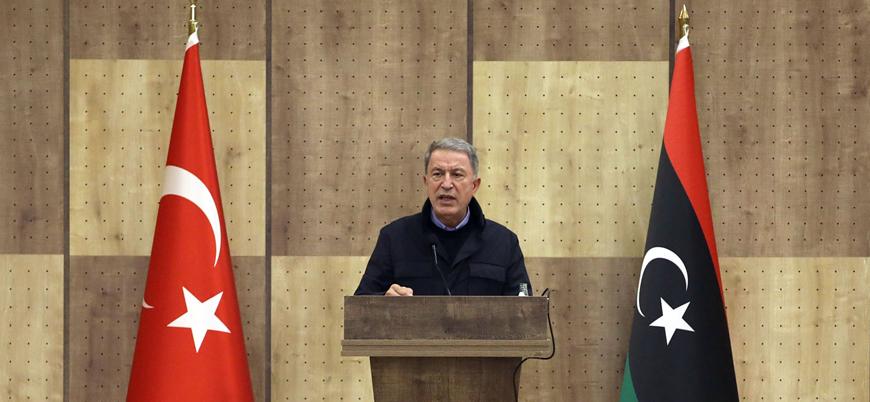 Bakan Akar: Herhangi bir saldırıda Hafter unsurları meşru hedefimiz olur