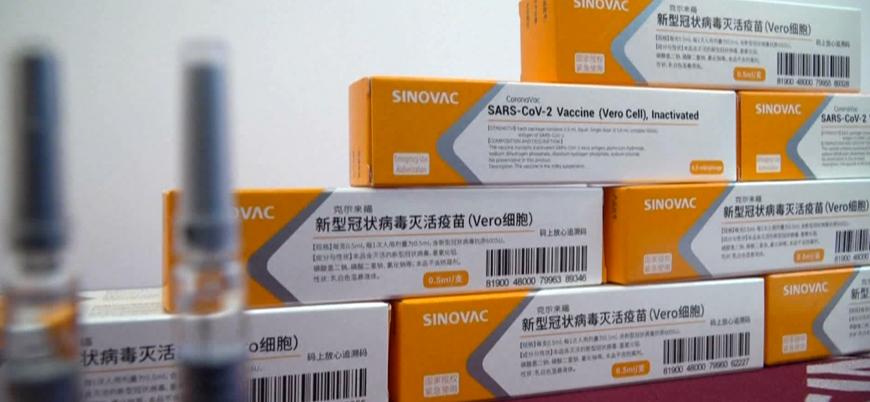Çin'den yeni parti Sinovac aşısı geldi