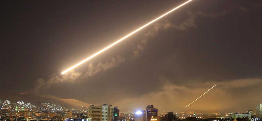 İsrail'den Suriye'de hava saldırısı