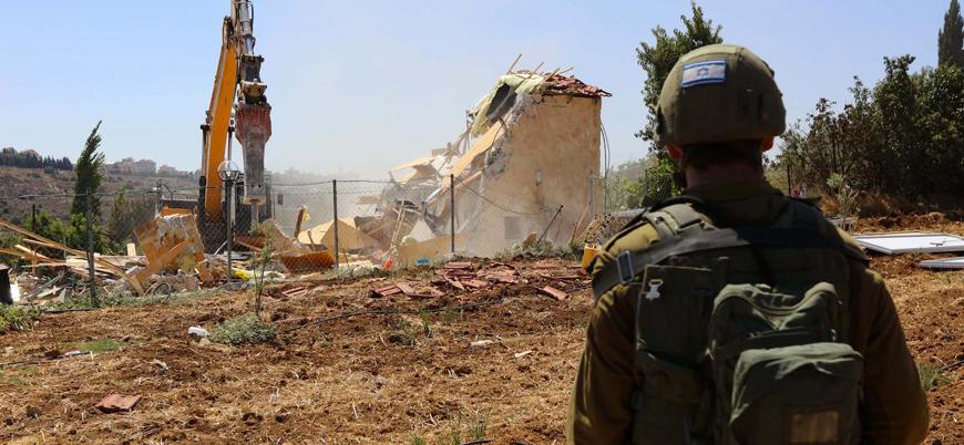 İsrail güçleri Filistinlilerin arazi ve ağaçlarına saldırdı