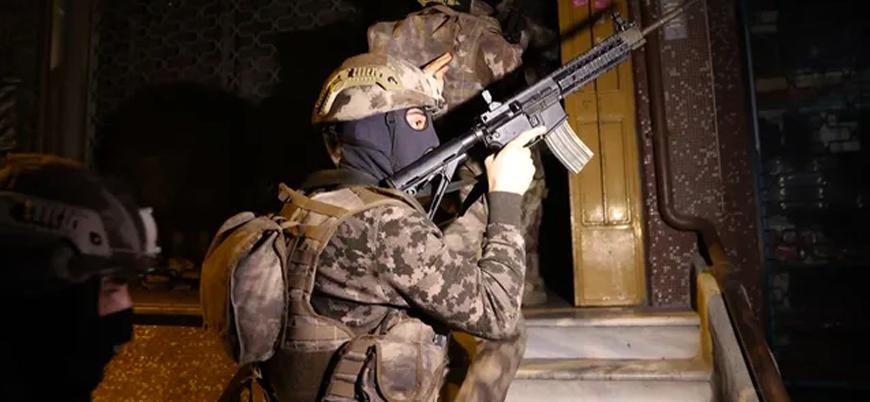 İstanbul'un 8 ilçesinde eş zamanlı 'IŞİD' operasyonu