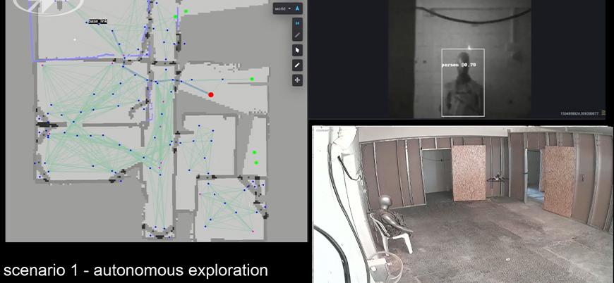 İsrailli firma kapalı alanlarda kullanılacak yapay zekalı askeri drone'u tanıttı