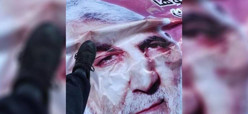 Gazze: Hamas, Süleymani posterlerini indirenleri gözaltına aldı