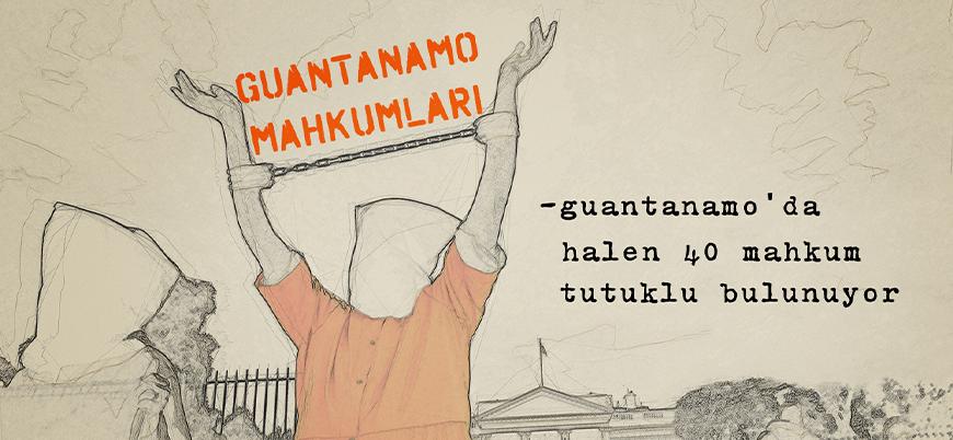 Guantanamo'da halen tutuklu olan mahkumlar