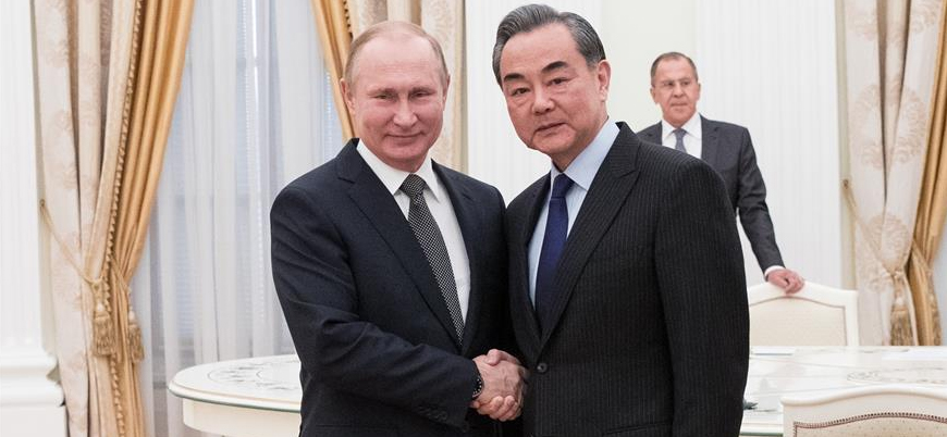 Çin Dışişleri: Rusya ile iş birliğimizin sınırı yok