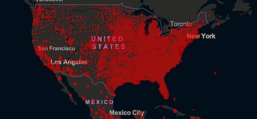ABD'de vaka sayısı 20 milyonu aştı