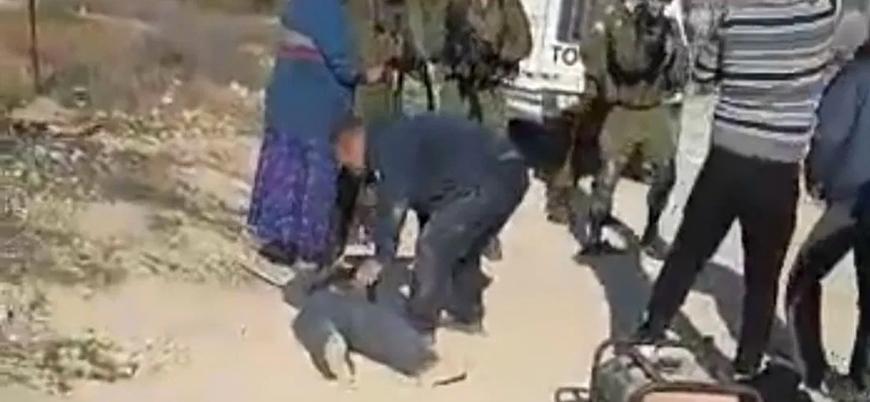 İsrail askerlerinin boynundan vurduğu Filistinli genç felç kaldı