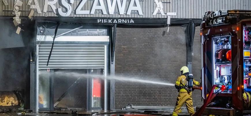 Hollanda'da Polonyalılara ait dükkana bombalı saldırı