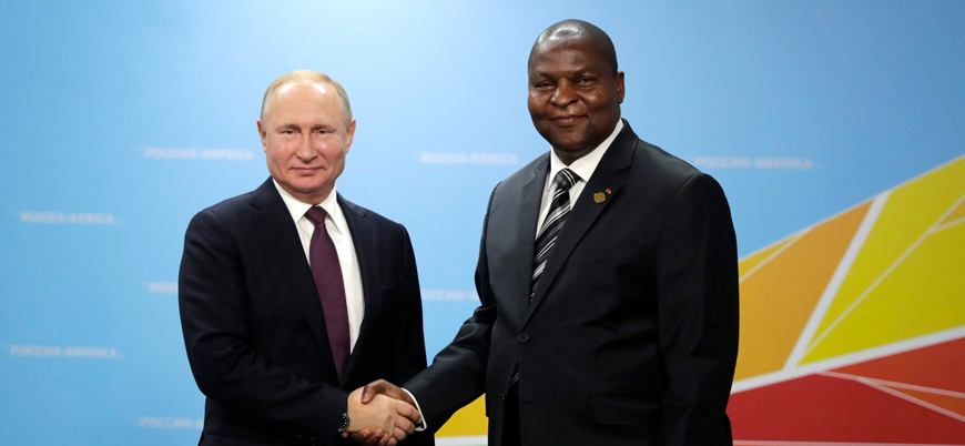 Orta Afrika Cumhuriyeti'ndeki seçimleri Rusya destekli Touadera kazandı