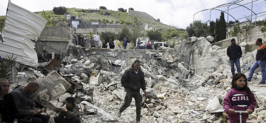 İsrail Filistinlilere ait 25 evi daha yıkacak