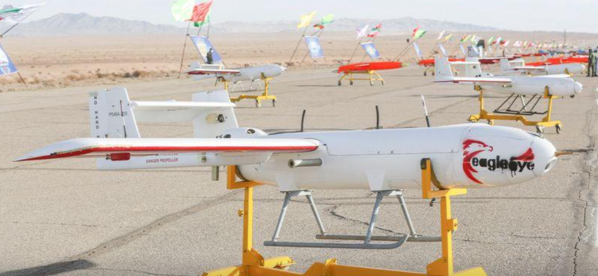 İran'dan kapsamlı 'drone' tatbikatı