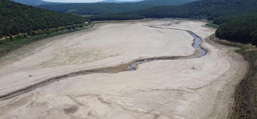 İstanbul'da barajlardaki su seviyesi son 15 yılın en düşük düzeyinde