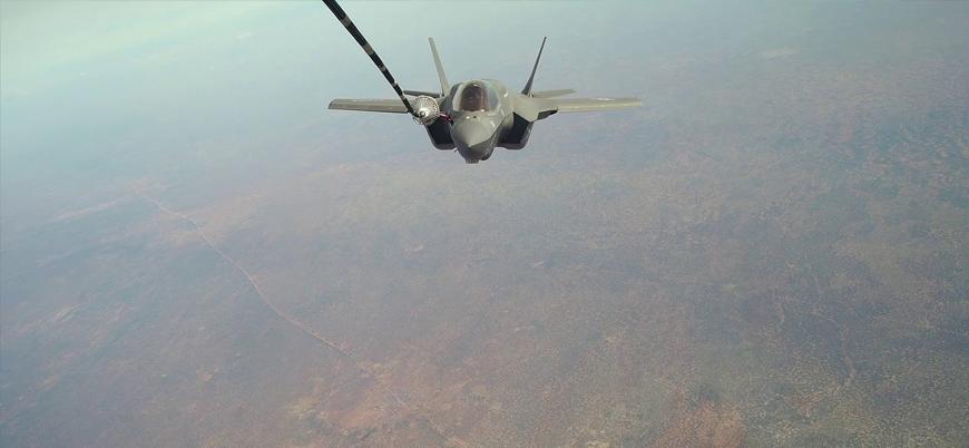 ABD F-35'leri Somali semalarında