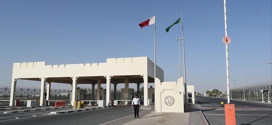 Katar ile Suudi Arabistan arasında sınırlar açıldı
