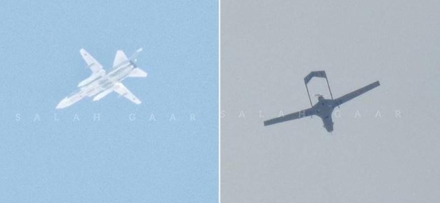 Rus Su-24 ve Türk Bayraktar TB2 İdlib semalarında