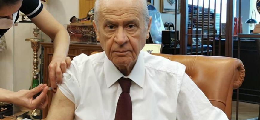 MHP lideri Bahçeli koronavirüs aşısı oldu