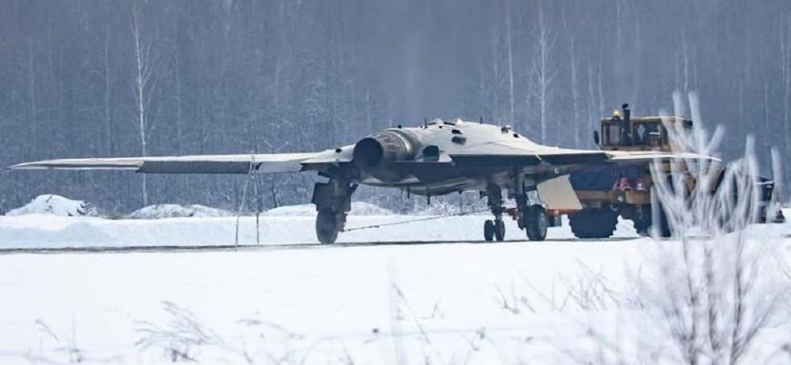 Rusya ağır saldırı İHA'sı Okhotnik'i test etti