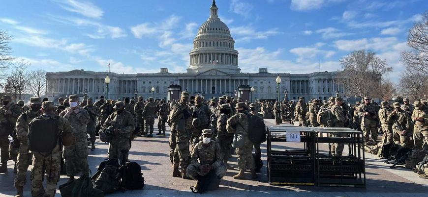 ABD, Biden'ın yemin töreni için alarmda