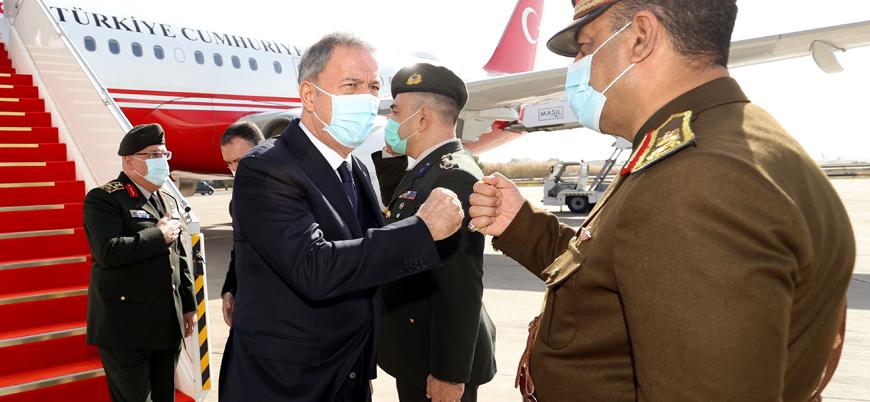 Savunma Bakanı Akar Bağdat'ta