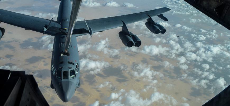 Amerikan B-52'leri Ortadoğu semalarında