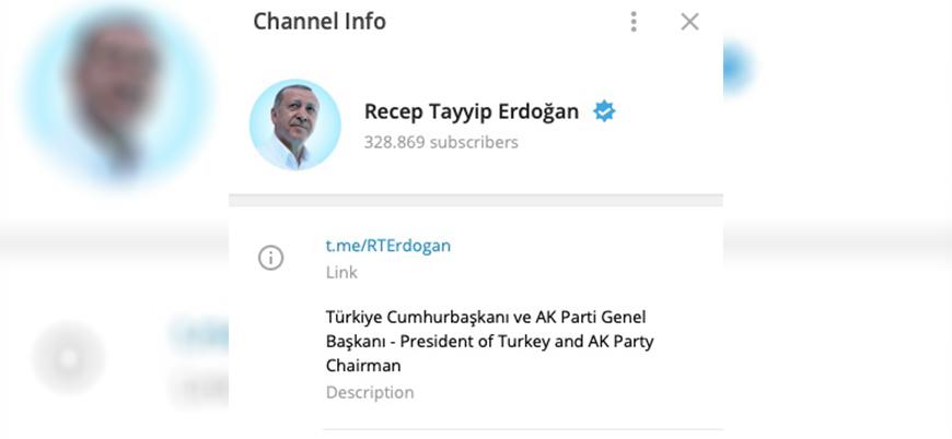 Cumhurbaşkanı Erdoğan sıkı bir Telegram kullanıcısı oldu