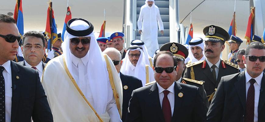 Katar ile Mısır anlaştı: Diplomatik ilişkiler yeniden başlıyor