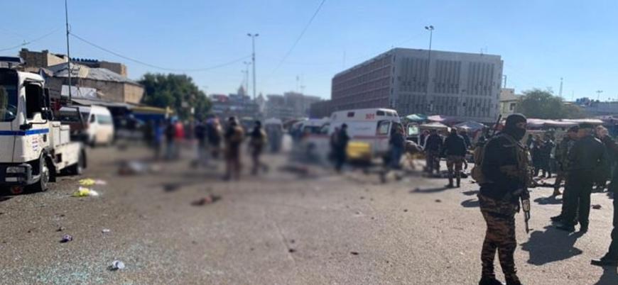 Irak'ın başkenti Bağdat'ta bombalı saldırılar