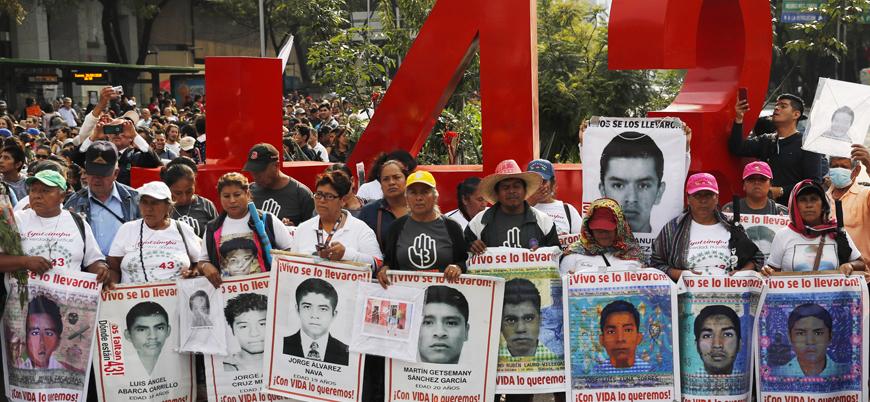 """""""Meksika'da katledilen 43 genci uyuşturucu çetelerine ordu teslim etti"""""""