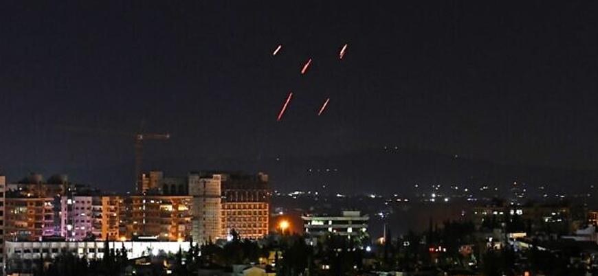 İsrail'den Suriye'nin başkenti Şam'da hava saldırısı