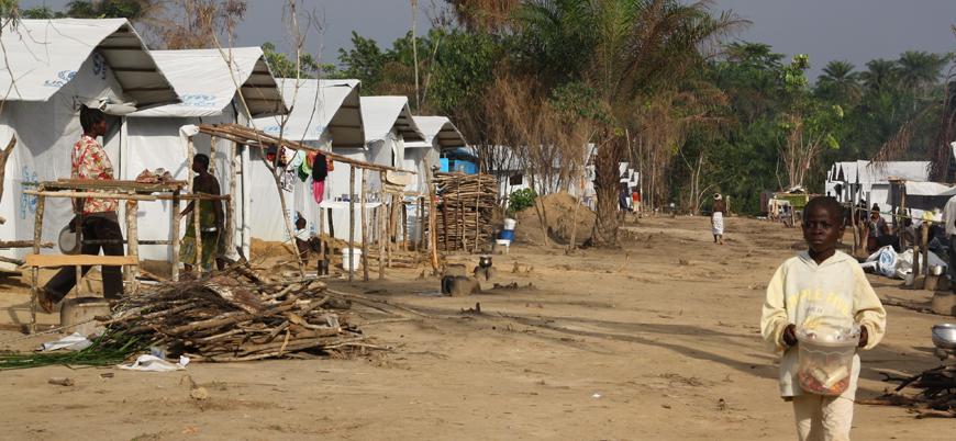 Batı Afrika'da 2 milyon insan savaş nedeniyle yerlerinden oldu