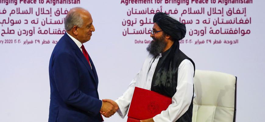 """""""Biden Taliban ile yapılan anlaşmayı gözden geçirecek"""""""