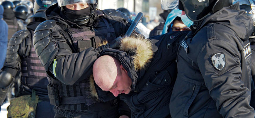 Rusya'da 'Navalny' protestoları