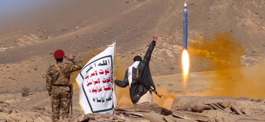İran destekli Husilerden Suudi Arabistan başkenti Riyad'a balistik füzeli saldırı