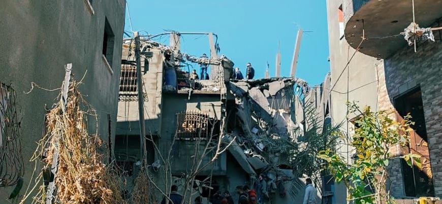 Gazze'de patlama: 36 kişi yaralandı, çok sayıda ev tahrip oldu