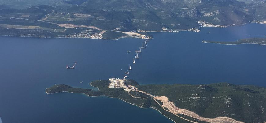 """Hırvatistan tartışmalı köprü inşaatında sona yaklaştı: """"Bosna'nın denizi çalınıyor"""""""