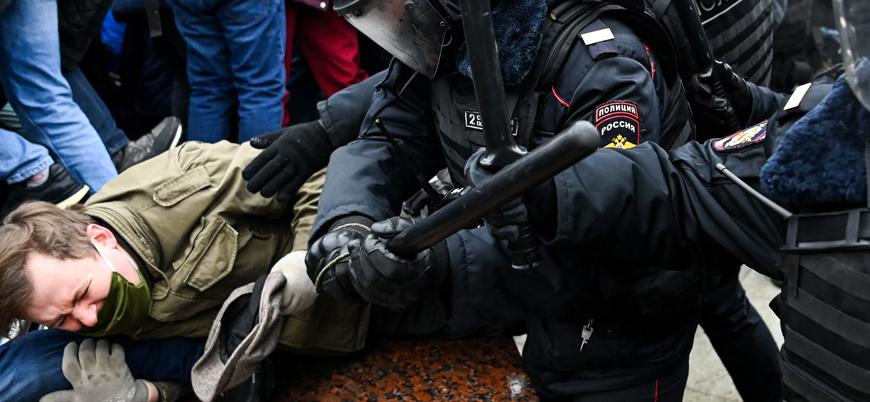 ABD'den Rusya'nın protestolara müdahalesine kınama