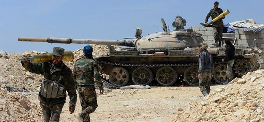 Esed rejimi Dera'nın batısında muhaliflere saldırı başlattı
