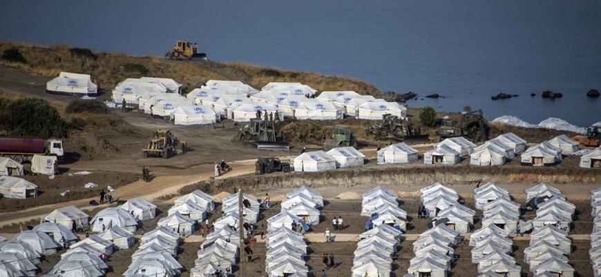 Yunanistan'daki mülteci kampında 'kurşun zehirlenmesi' krizi